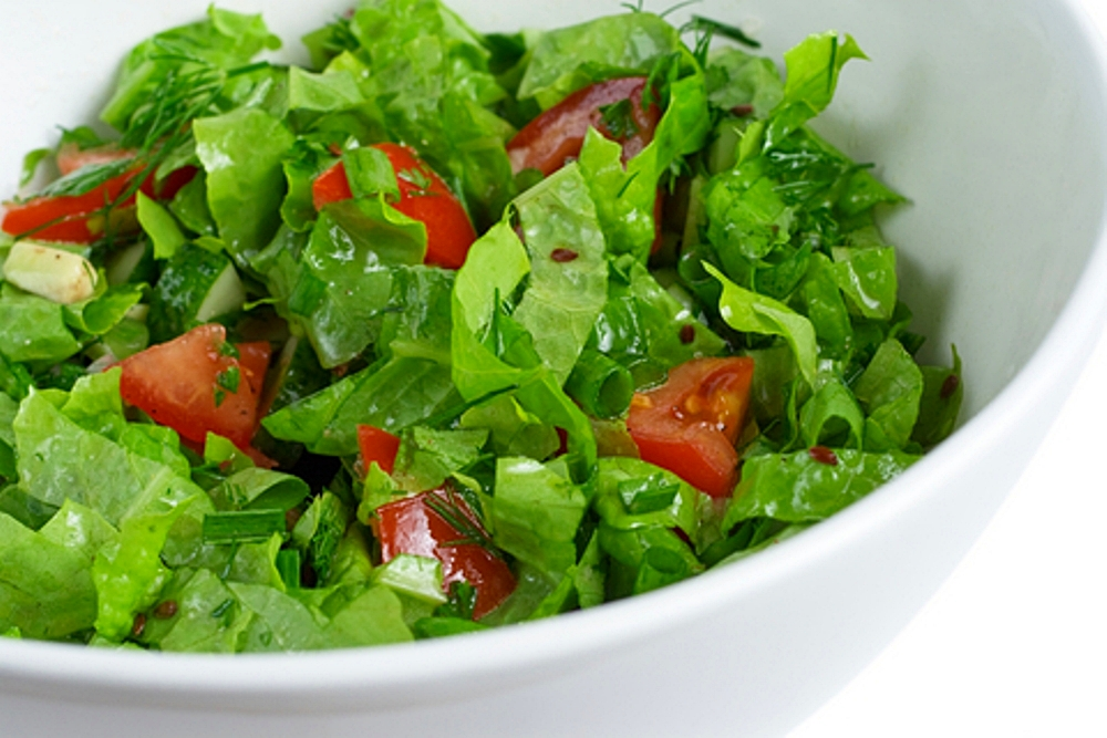 Green salad for Ver de la salade